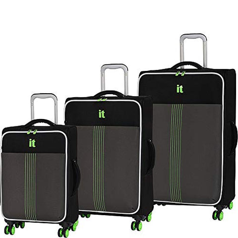 it luggage Filament 8-Wheel Lightweight 3-Piece, Dark Force
