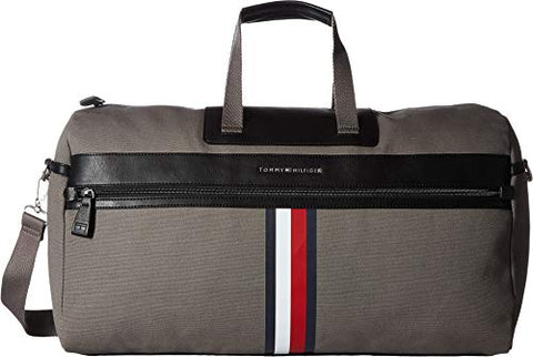 Tommy Hilfiger Men's Icon Duffel Canvas Castlerock One Size
