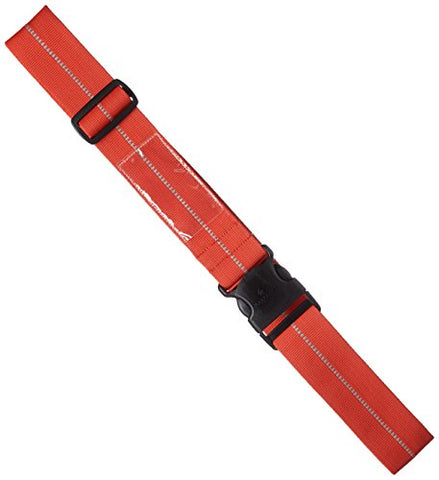Eagle Creek Reflective Luggage Strap, Flame Orange