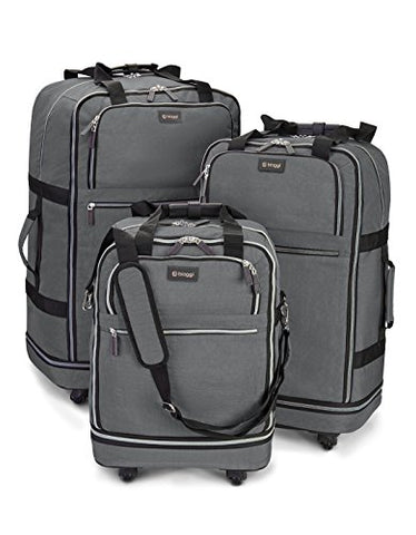 Zipsak 3 Piece Set (Grey)