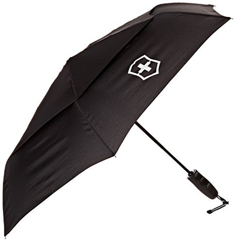 Victorinox Automatic Umbrella, Black/Red Logo