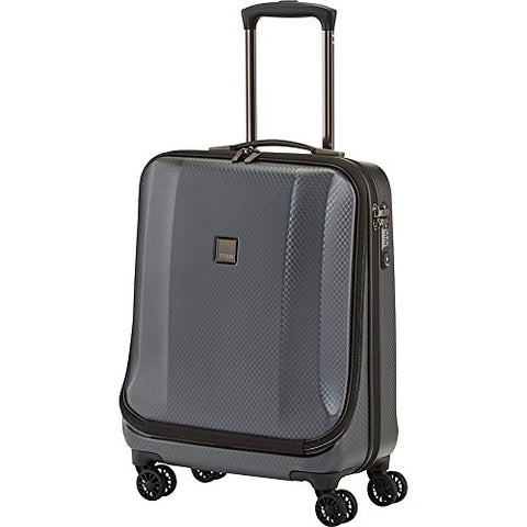 "Titan Bags Xenon Deluxe 21.5"" Carry-On Business Wheeler Luggage (Graphite)"