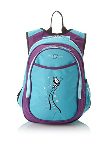 Obersee Kid's All-in-One Pre-School Backpacks with Integrated Cooler, Butterfly