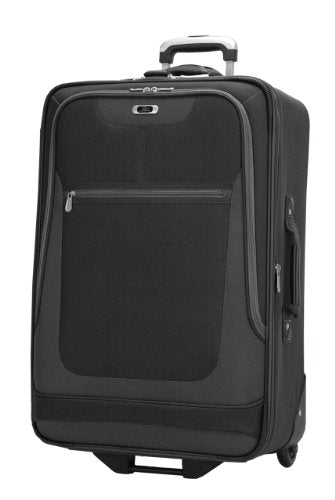 Skyway Luggage Epic 25 Inch 2 Wheel Expandable Upright, Black, One Size