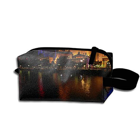 Las Vegas Fountain Bellagio Waterproof Nylon Organizer for Travel Accessories
