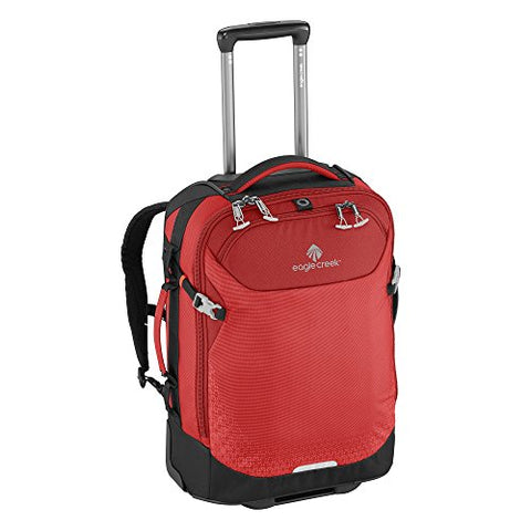 "Eagle Creek Expanse 21"" Convertible International Carry-on Luggage Red"