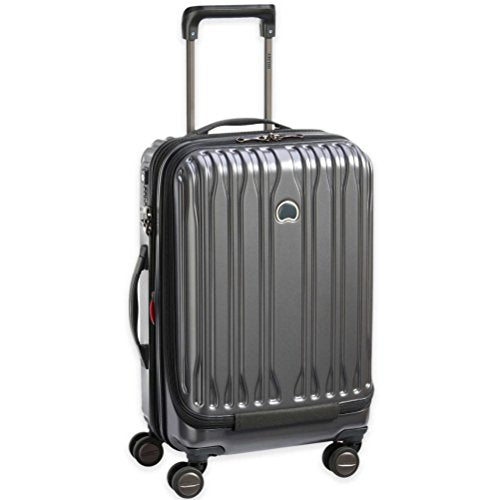 Delsey Paris Chromium Lite 19-Inch International Spinner Carry-On With Expansion (Graphite)