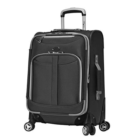 "Olympia USA Tuscany 21"" Exp. Airline Carry-on (Black)"