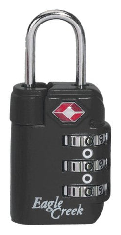 Eagle Creek Travel Gear Travel Safe TSA Lock, Charcoal