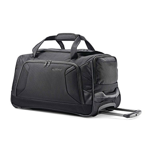 American Tourister Zoom 20 Wheeled Duffel, Black