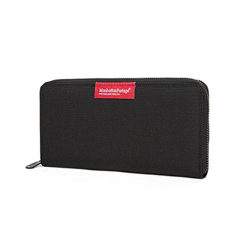 Manhattan Portage John Wallet, One Size (Black)