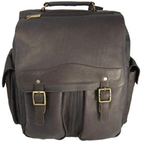 David King & Co. Jumbo Back Pack, Cafe, One Size