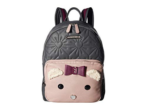 Betsey Johnson Women's Cat Backpack Grey Multi One Size