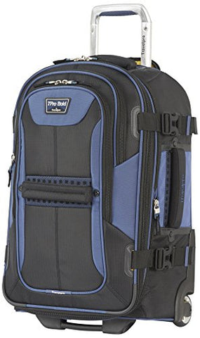 Travelpro Tpro Bold 2.0 22 Inch Expandable Rollaboard, Black/Navy, One Size