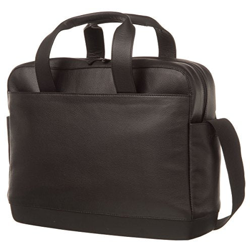 Moleskine Classic Leather Utility Bag, Black
