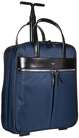 Knomo Luggage Knomo Mayfair Nylon Burlington 15-Inch N/S Trolley, Navy, One Size