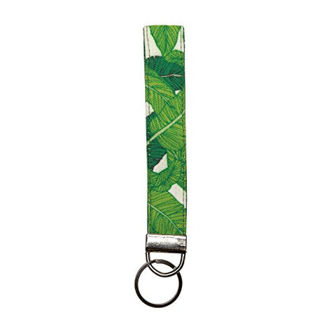 C.R. Gibson Canvas Key Ring Strap, Tropical Tango