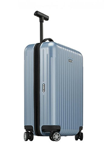 "RIMOWA Salsa Air IATA Carry on Luggage 21""Inch Cabin Multiwheel 33L TSA Lock Spinner Suitcase Ice Blue"