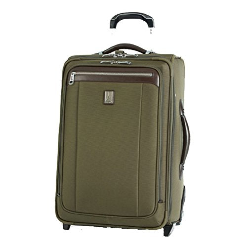 Travelpro Platinum Magna 2 22'' Expandable Rollaboard Suiter (Olive, 22)
