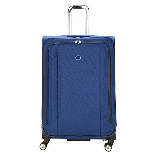 Delsey Luggage Aero Soft 29 Inch Spinner Check In, Cobalt
