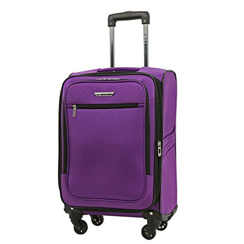 Travelers Club 20 Inch Carry On, Purple