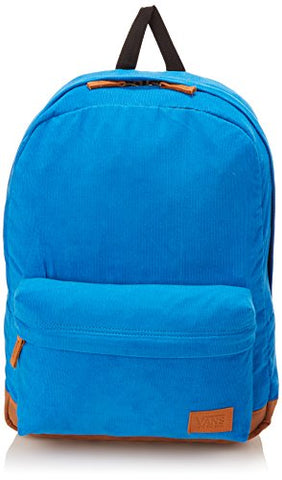 Vans Unisex Deana III Corduroy Blue Backpack School Bag