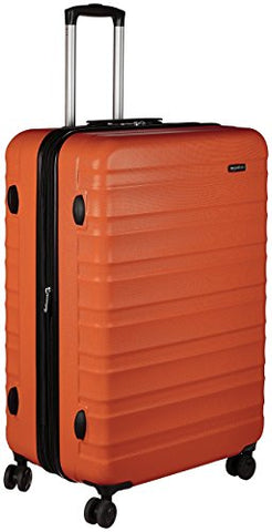 Amazonbasics Hardside Spinner Luggage -  28-Inch, Orange