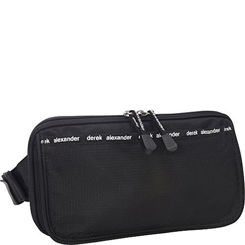Derek Alexander Travel Waist Bag & Organizer (Black)
