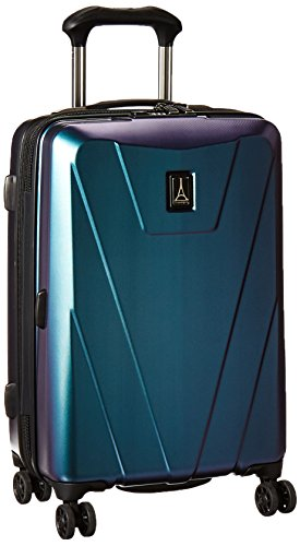 "Travelpro Maxlite 4 21"" Hardside Spinner, Black/Green"