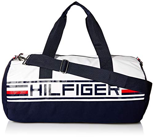 Tommy Hilfiger Duffle Bag Tommy Patriot Colorblock, Navy blazer-print