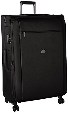 Delsey Luggage Montmartre+ 4 Wheel 29 Inch Exp Lug, Black