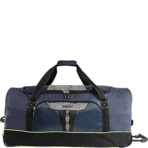 "Pacific Coast 35"" Extra Large Rolling Duffel Bag, Navy One Size"