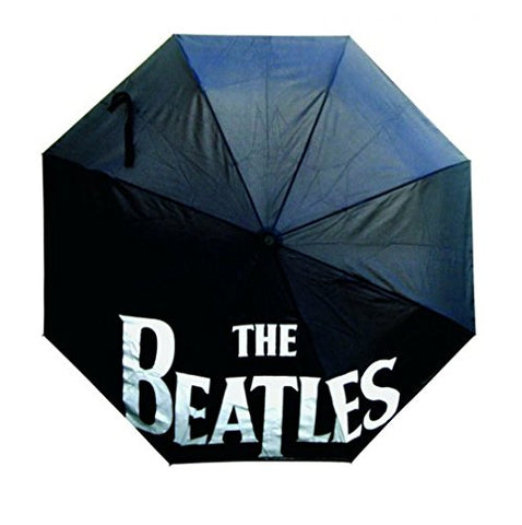 The Beatles Black Automatic Open & Close Umbrella