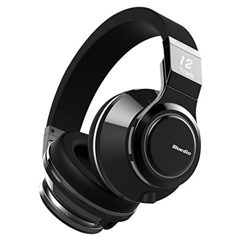 Bluedio V (Victory) Pro Patented Pps12 Drivers Wireless Bluetooth Headphones (Black)