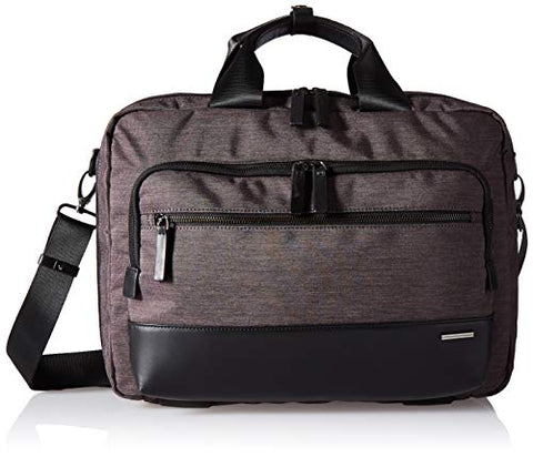 Zero Halliburton Lightweight Business-Small Laptop Bag Briefcase, Black, One Size