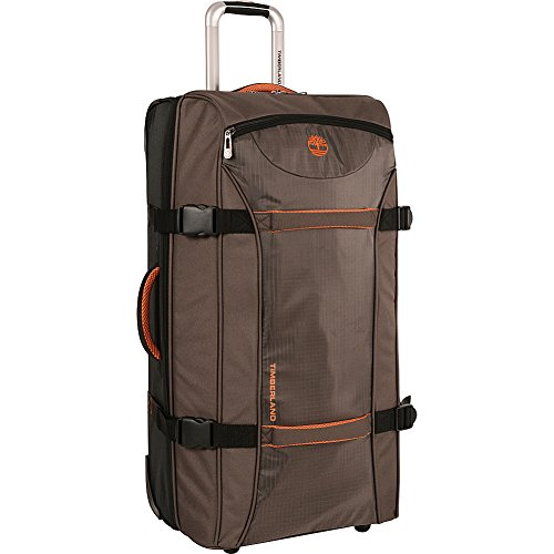 Timberland Luggage Twin Mountain 22 Inch Wheeled Duffle, Cocoa, One Size