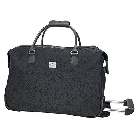 Ricardo Beverly Hills Imperial 20-Inch Rolling City Duffel, Black, One Size