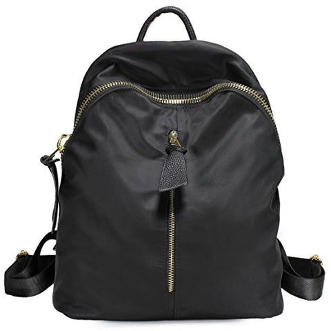 Scarleton Dual Zip Backpack H195501 - Black