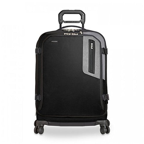 "Briggs & Riley Brx Explore Medium Expandable 26"" Spinner, Black, One Size"