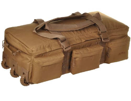 Sandpiper of California Rolling Loadout Luggage Bag (Brown, 12x36x17-Inch)