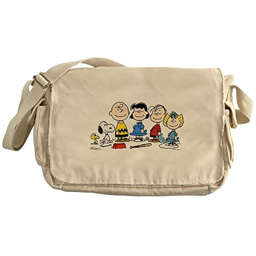 CafePress - Peanuts Gang - Unique Messenger Bag, Canvas Courier Bag