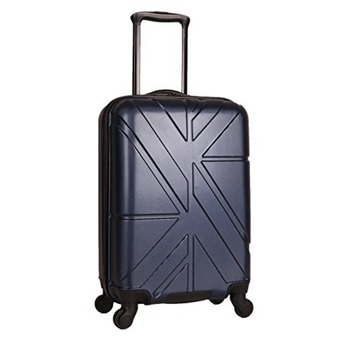 "Ben Sherman 20"" Abs 4-Wheel Carry-On Luggage, Navy"