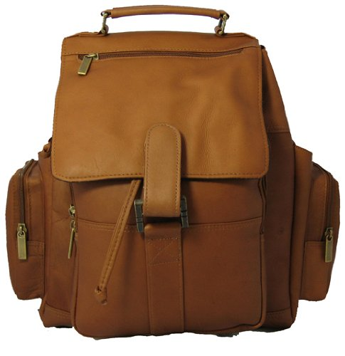 David King & Co. Top Handle X-Large Backpack, Tan, One Size