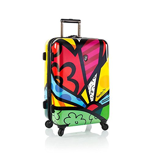 Romero Britto Luggage 22'' A New Day Spinner Wheels Carry-On