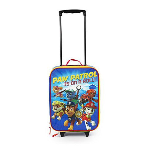"Paw Patrol 16"" Paw Patrol on a Roll Pilot Case Rolling Luggage or Backpack"