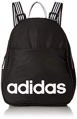 b60b7d74b9 Shop adidas Core Mini Backpack, Black/White, One Size – Luggage Factory