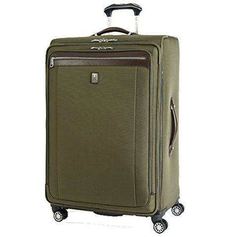 Travelpro Platinum Magna 2 25'' Expandable Spinner Suiter (Olive,25-inch)