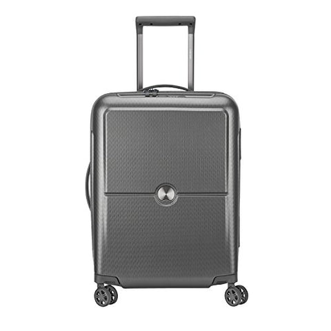DELSEY PARIS TURENNE Hand Luggage, 55 cm, 40 liters, Silver (Argent)