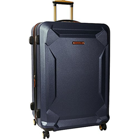 "Timberland Fort Stark 29"" Expandable Hardside Checked Spinner Luggage (Navy)"