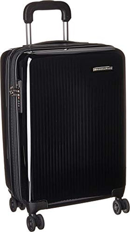 Briggs & Riley Tall Carry-On Expandable Spinner, Onyx